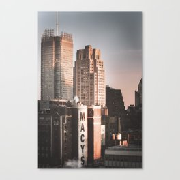 Manhattan Cityscape no.3 Canvas Print