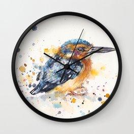 Kingfisher Lane Wall Clock