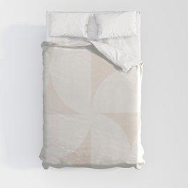 Monochromatic Minimalism - White Duvet Cover