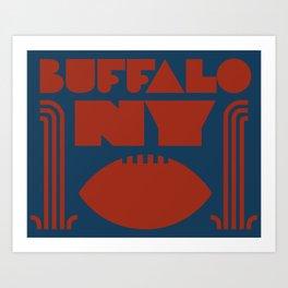 Buffalo NY Art Print