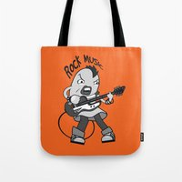 cassia beck Tote Bags featuring Beck: Ryusuke's T-shirt Concept by KeithKarloff