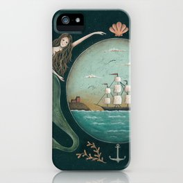 Sirens of the Sea by Donna Atkins iPhone Case