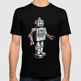 Retro Robot Toy T-shirt