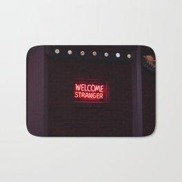Welcome Stranger - Sheridan, WY Bath Mat