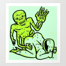 hothouse of horror Art Print