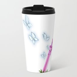 Here Comes a Thought Travel Mug