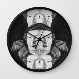 Homme au turban rouge — Flemish Division Wall Clock