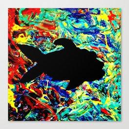 Mushy Fish Vibes Canvas Print
