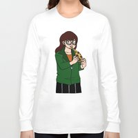 daria Long Sleeve T-shirts featuring Daria by Jay Buggy