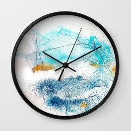 early morning II Wall Clock