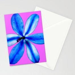 Little Blue Flower Stationery Cards
