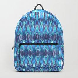 Jewel Tone Ikat Backpack