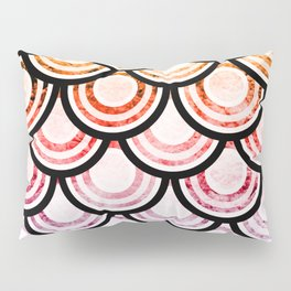 Bright Scallops Pillow Sham