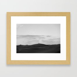Black Sands Framed Art Print