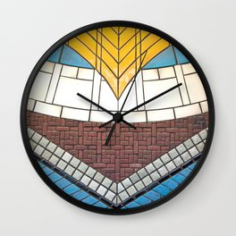 Detroit People Mover Art Times Square Wall Clock