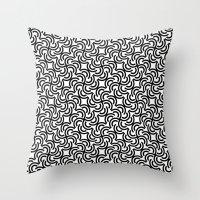leonardo dicaprio Throw Pillows featuring Leonardo by Mauricio Cosío