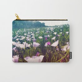 Field of Pink Evening Primrose - Texas Wildflowers Carry-All Pouch