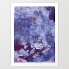 night clouds Art Print