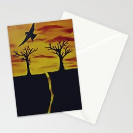 Sunset moments Stationery Cards