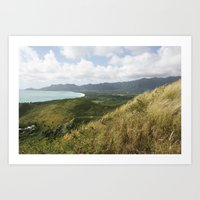 hawaii Art Prints featuring Hawaii by Kakel-photography