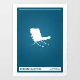 Design Classics - Barcelona Art Print