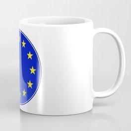 EU Button Coffee Mug