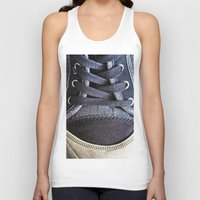 shoe Tank Tops featuring Shoe by Fine2art