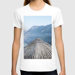 Dock # mountains #nature T-shirt