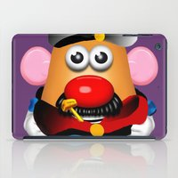 popeye iPad Cases featuring Popeye Potato Head by tgronberg