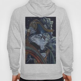 Sea Captain Cat Hoody