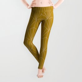 Art Deco Vector in Gold Leggings