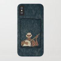 banjo iPhone & iPod Cases featuring Banjo by Aquamarine Studio