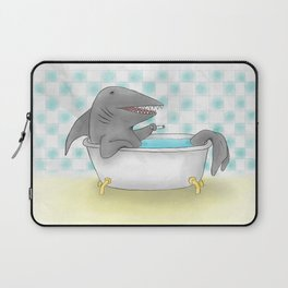 Shark bath Laptop Sleeve