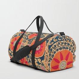 Kermina Suzani Uzbekistan Print Duffle Bag