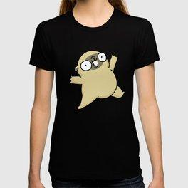 Mochi the pug jumping yay! T-shirt