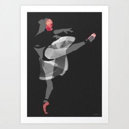 Suspended Movement II Art Print