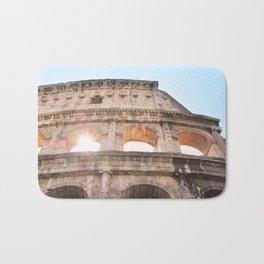 145. Coliseum and light, Rome Bath Mat