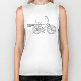 vintage witch bike Biker Tank