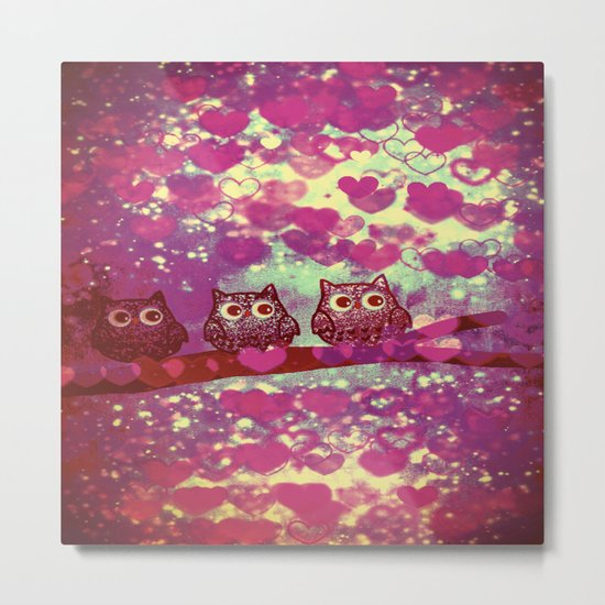 owl-105 Metal Print