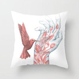 Tattoo III Throw Pillow