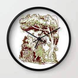 Intersectional Nature Wall Clock