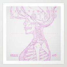 Sketch-Electro-A Art Print