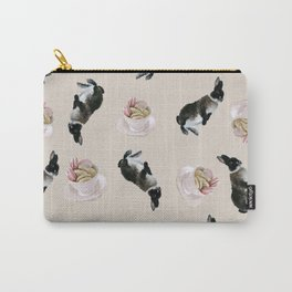 Rex and macaroons pattern Carry-All Pouch