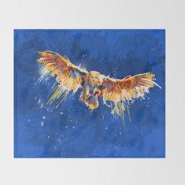 Night Owl Throw Blanket