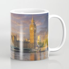 Big ben and the houses of parliament at dawn Coffee Mug
