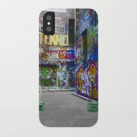 melbourne iPhone & iPod Cases featuring Melbourne Graffiti by Another Alex