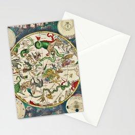 De Wit's Southern Celestial Hemisphere 1670 Stationery Cards