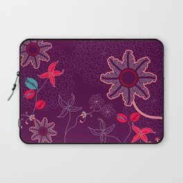 jungle delights deep velvet art print Laptop Sleeve