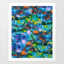 CRAYON LOVE : Freebird Art Print