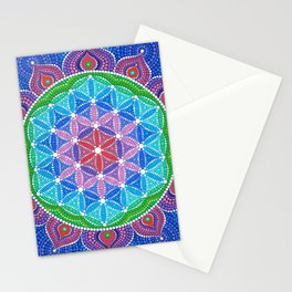 Lotus Flower of Life Stationery Cards